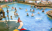 The pool at Carmarthen Bay Hoilday Park- Park Resorts - West Wales